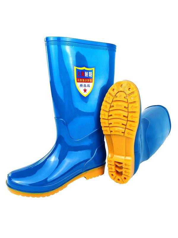劳保雨鞋厂家浅谈劳保鞋的安全功能?